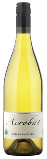 Acrobat Pinot Gris 2010 (wine review and rating)